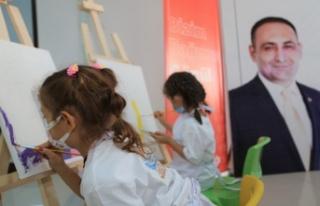 Toroslar'da Sanatla İç İçe Bir Nesil Yetişiyor