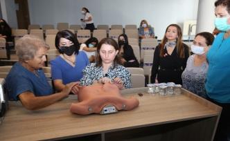 Mezitli Belediyesinden Meme Kanseri Farkındalık Eğitimi