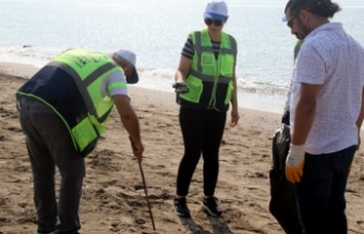 Kazanlı Sahili Baştan Sona Temizlendi