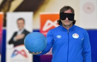 Görme Engelliler İçin Goalball Farkındalık Maçı Düzenlendi