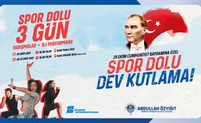 """'Spor Dolu 3 Gün-Spor Dolu Dev Kutlama"""""""
